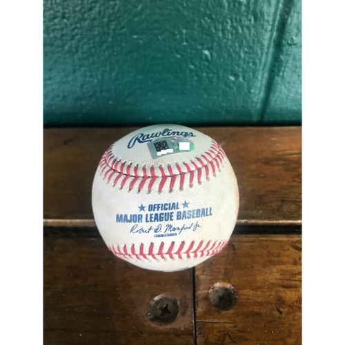 Photo of Cardinals Authentics: Game Used Baseball Pitched by Mike Foltynewicz to Paul Goldschmidt and Paul DeJong *Strikeout, Strikeout*