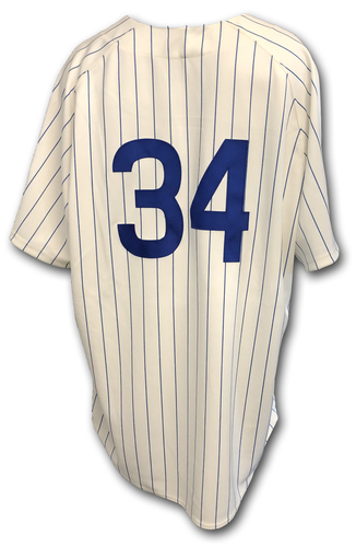 Photo of Jon Lester Game-Used 1969 Uniform -- Reds vs. Cubs -- 7/16/19