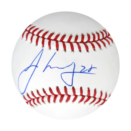 Photo of Autographed Baseball: Jorge Lopez