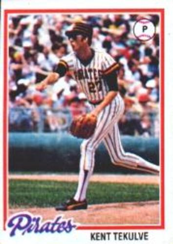 Photo of 1978 Topps #84 Kent Tekulve