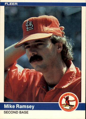 Photo of 1984 Fleer #333 Mike Ramsey