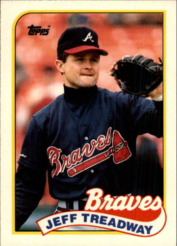Photo of 1989 Topps Traded #121T Jeff Treadway