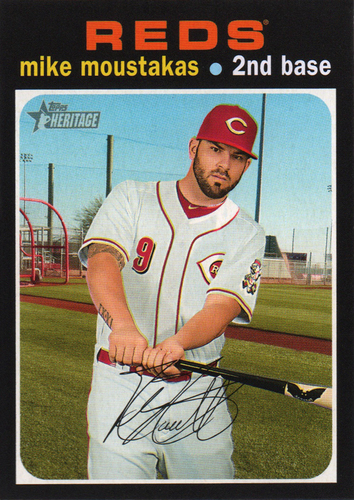 Photo of 2020 Topps Heritage #24 Mike Moustakas