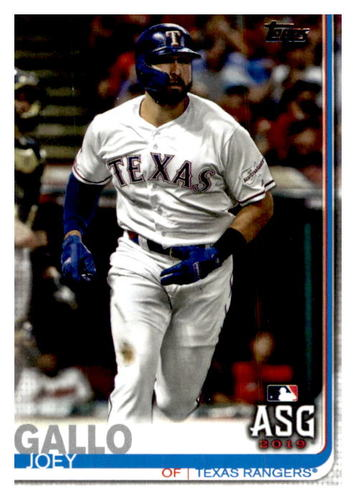 Photo of 2019 Topps Update #US114 Joey Gallo AS