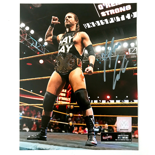 Adam Cole SIGNED WrestleMania 36 Exclusive Photo (Random Number)