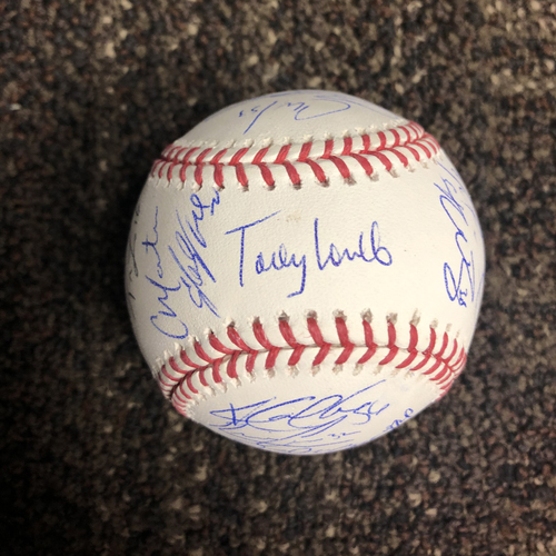 Photo of 2020 D-backs Team Signed Baseball - NOT MLB Authenticated - D-backs Certificate of Authenticity Included