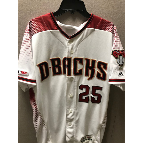 Photo of Archie Bradley 2019 Team-Issued Home Regular Jersey (Size 44)