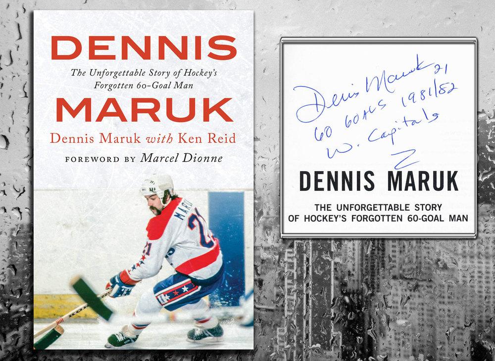 Dennis Maruk DENNIS MARUK Signed Hardcover Book