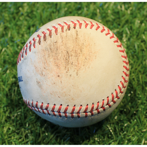 Photo of Game-Used Baseball: Aaron Bummer 118th Career Strikeout (CWS @ KC 8/1/20)