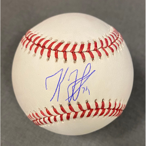 Photo of Kenley Jansen Authentic Autographed Baseball