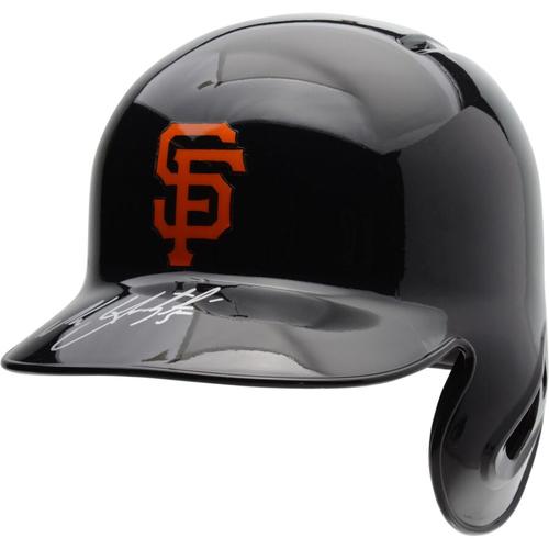 Photo of Buster Posey San Francisco Giants Autographed Replica Batting Helmet