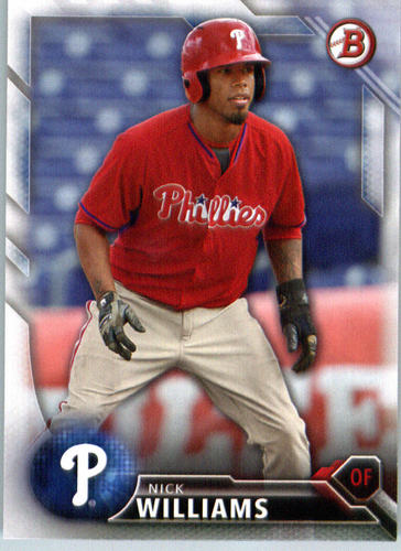 Photo of 2016 Bowman Prospects #BP105 Nick Williams