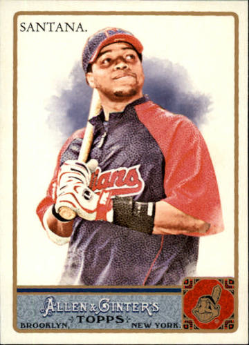 Photo of 2011 Topps Allen and Ginter #41 Carlos Santana