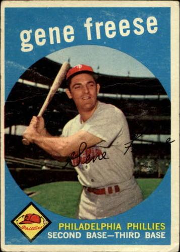 Photo of 1959 Topps #472 Gene Freese