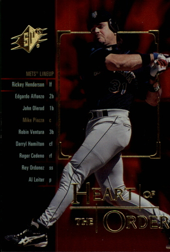 Photo of 2000 SPx Heart of the Order #H2 Mike Piazza