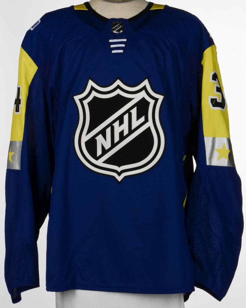 official photos d3458 b9e9c Auston Matthews Toronto Maple Leafs Game-Used 2018 All-Star ...