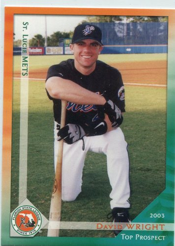 Photo of 2003 Florida State League Top Prospects Grandstand #12 David Wright