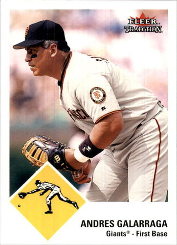 Photo of 2003 Fleer Tradition Update Glossy #50 Andres Galarraga