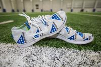 MY CAUSE MY CLEATS - Lions AST COACH Ron Prince CUSTOM CLEATS (Week 13 2017)