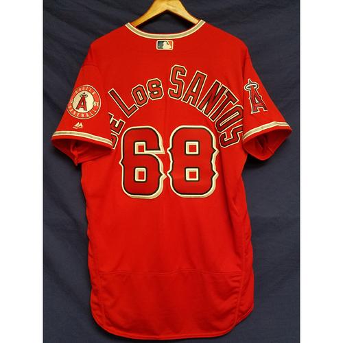 Photo of Abel De Los Santos Alternate Red Team-Issued Jersey