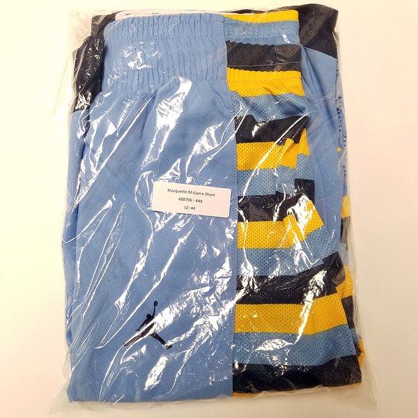 Photo of Marquette Championship Blue Brand Jordan Shorts (2015-16)