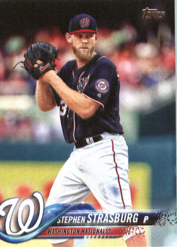 Photo of 2018 Topps #233 Stephen Strasburg