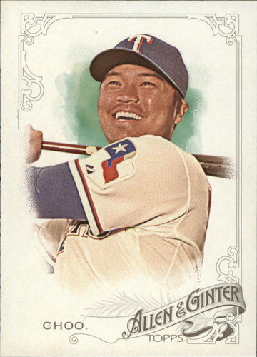 Photo of 2015 Topps Allen and Ginter #346 Shin-Soo Choo