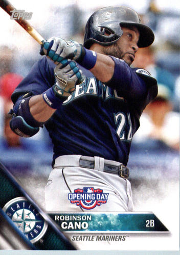 Photo of 2016 Topps Opening Day #OD148 Robinson Cano