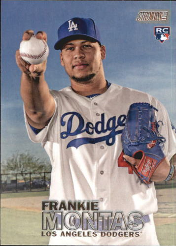 Photo of 2016 Stadium Club #175 Frankie Montas RC