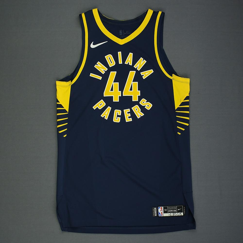 Bojan Bogdanovic - Indiana Pacers - Kia NBA Tip-Off 2018 - Game-Worn Icon Edition Jersey - 1 of 2