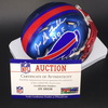 HOF - Bills Joe DeLamielleure Signed Blaze Mini Helmet