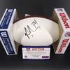 Jets - Nick Mangold Signed Panel Ball