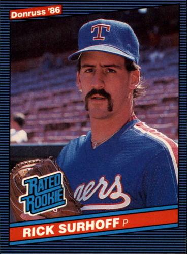 Photo of 1986 Donruss #42 Rick Surhoff RC