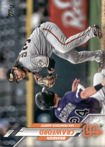 Photo of 2020 Topps #236 Brandon Crawford