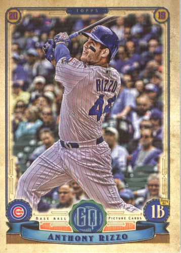 Photo of 2019 Topps Gypsy Queen #32 Anthony Rizzo