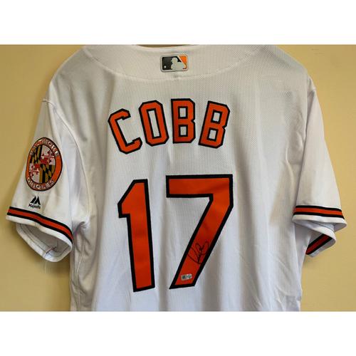 Alex Cobb - Jersey: Autographed