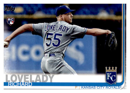 Photo of 2019 Topps Update #US213 Richard Lovelady RC