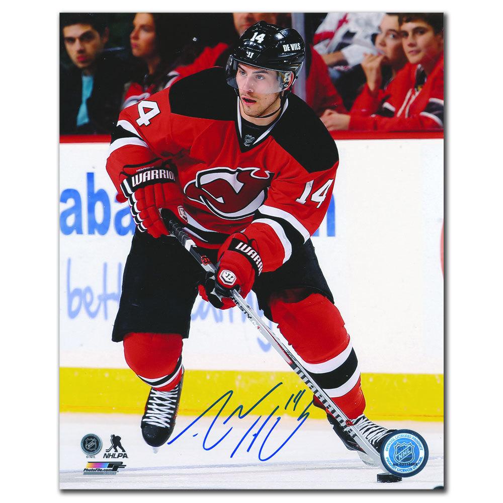 Adam Henrique New Jersey Devils Playmaker Autographed 8x10