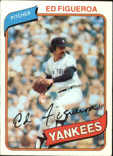 Photo of 1980 Topps #555 Ed Figueroa
