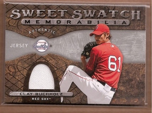 Photo of 2009 Sweet Spot Swatches #CB Clay Buchholz