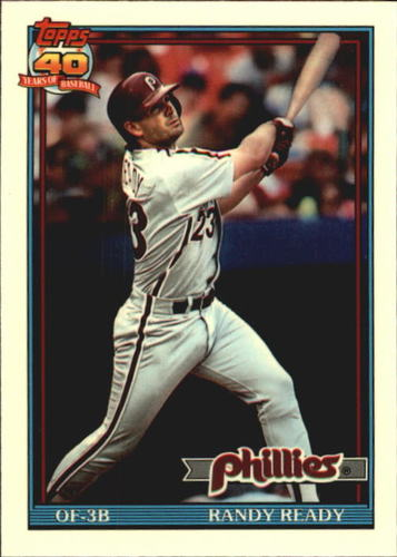 Photo of 1991 Topps Tiffany #137 Randy Ready
