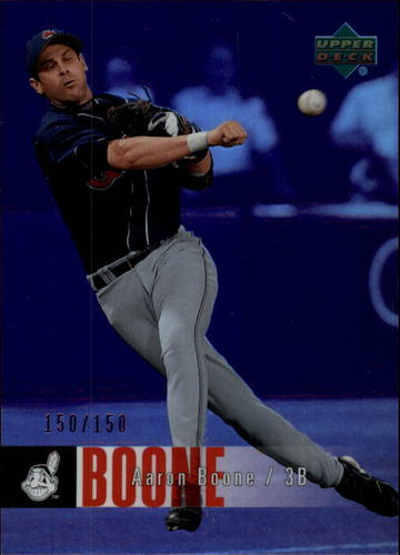 Photo of 2006 Upper Deck Special F/X Purple #137 Aaron Boone /150