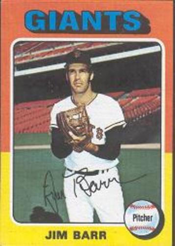 Photo of 1975 Topps #107 Jim Barr