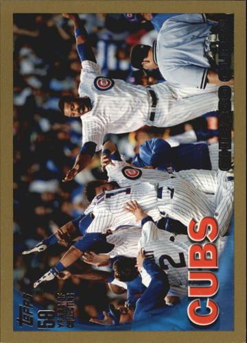 Photo of 2010 Topps Gold Border #328 Chicago Cubs