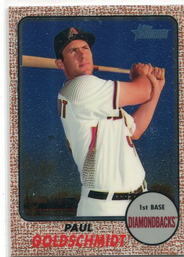 Photo of 2017 Topps Heritage Chrome Paul Goldschmidt 638/999