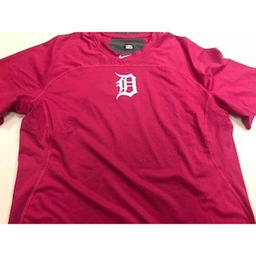 Photo of Team-Issued Pink Nike-Dri Fit Shirt #46