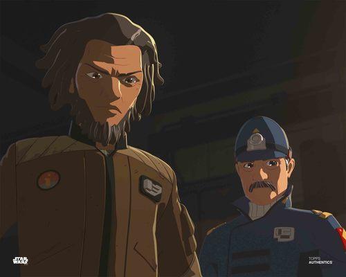 Jarek Yeager and Captain Doza