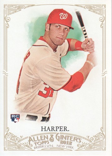 Photo of 2012 Topps Allen and Ginter #12 Bryce Harper RC