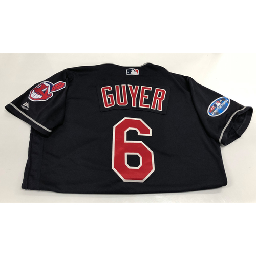 Photo of Brandon Guyer 2018 Post Season Alt. Road Jersey
