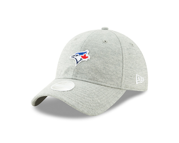 Toronto Blue Jays Women's Preppy Team Grey Cap by New Era